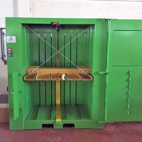 Prensa vertical MacFab LH 300 - Machemac