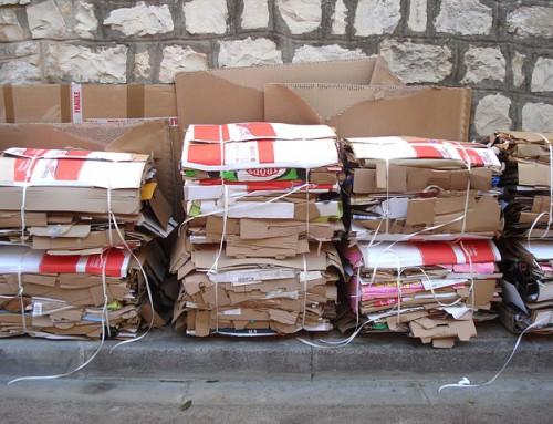 La recogida de papel y cartón de operadores privados supone el 80% del total
