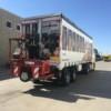 Carretilla transportable usada Moffett M2003stm