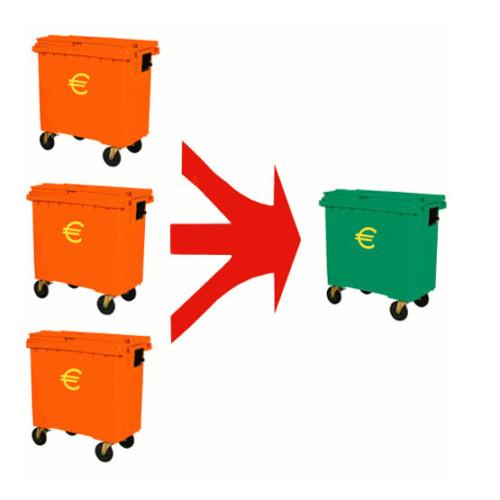 Compactadora de contendores de basura MacFab - Machemac