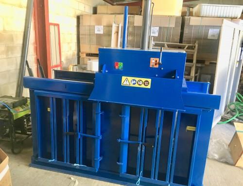 Prensas verticales: la solución para la gestión de residuos de las empresas alimentarias